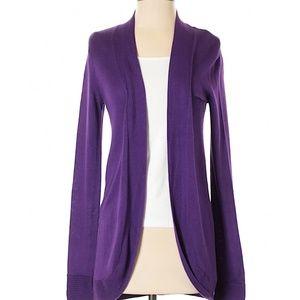 *B2G1*Chicos SM purple sweater cardigan